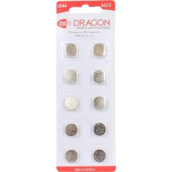 Dragon AG13/LR44 Batteries - 10 pack Sex Toy