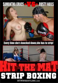 Strip Boxing - Samantha Grace vs Rusty Nails Porn Video