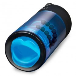 Zolo Blowpro - Black and Blue Sex Toy