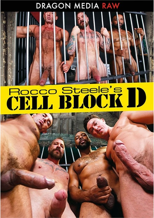 Rocco Steeles Cell Block D Cover Front