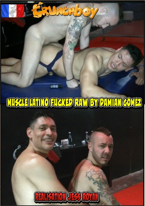 Muscle Latino Fucked Raw by Damian Gomez Boxcover