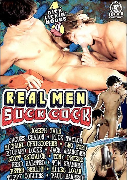 Real men suck cock