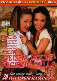 Geisha Dolls Sucking Balls Porn Video