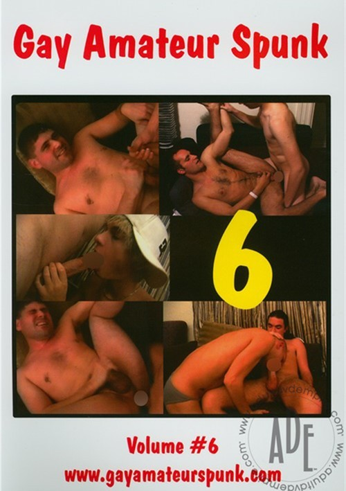 Gay Amateur Spunk Vol. 6 Boxcover