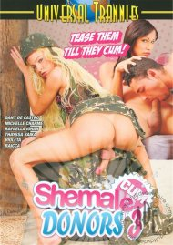 Shemale Cum Donors 3 Porn Video