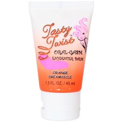 Tasty Twist Oral-Gasm Enhancing Balm - Orange Dreamsicle - 1.5 oz.