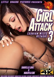 Girl Attack 3: Lesbian MILFs Attack Porn Video