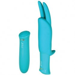Impulse Isabella Rechargeable Bunny Bullet Vibe - Turquoise Sex Toy