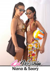 Curvy Latina Beauty Toys and Lesbian Licks Teen Pussy and Ass Boxcover