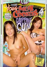 Young Asian Cookies Dripping Cum 4 image