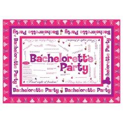 Bachelorette Party Trivia Tablecloth
