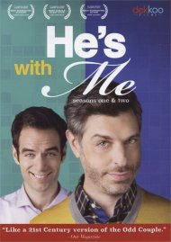 He's with Me: Seasons One & Two gay cinema DVD from Dekkoo Films.
