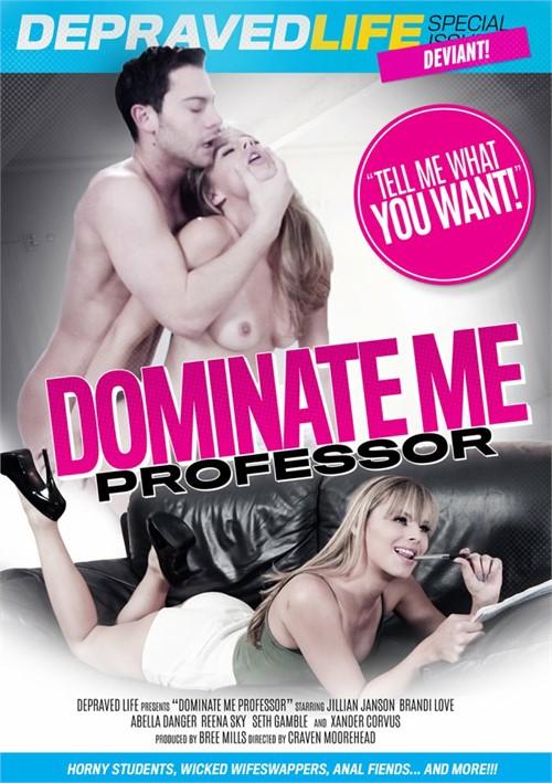 Dominate Me Professor