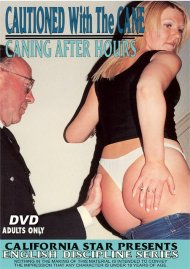 Cautioned Wtih the Cane & Caning After Hours Porn Video