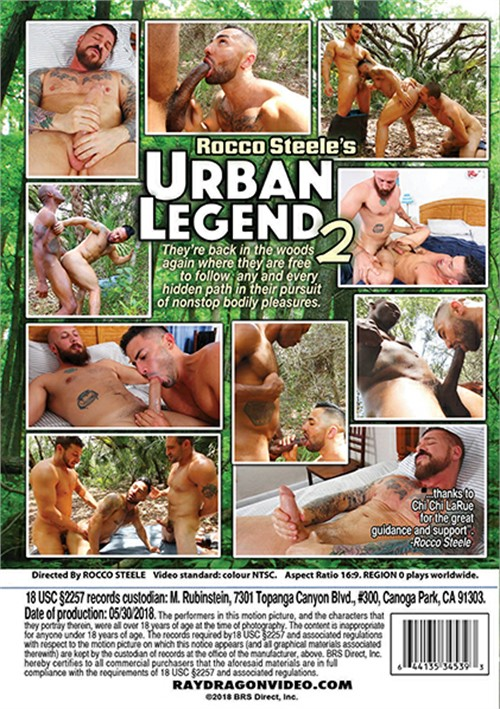 Rocco Steeles Urban Legend 2 Cover Back
