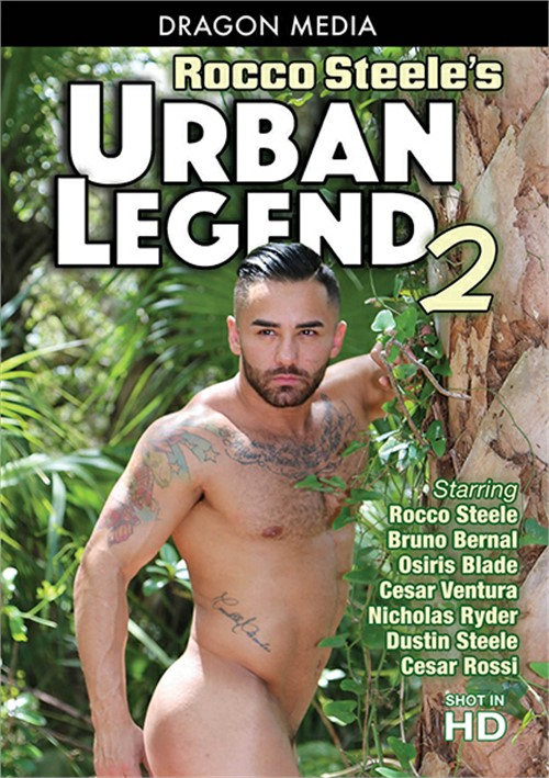 Rocco Steeles Urban Legend 2 Cover Front
