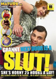 Granny Next Door Is A Slut!