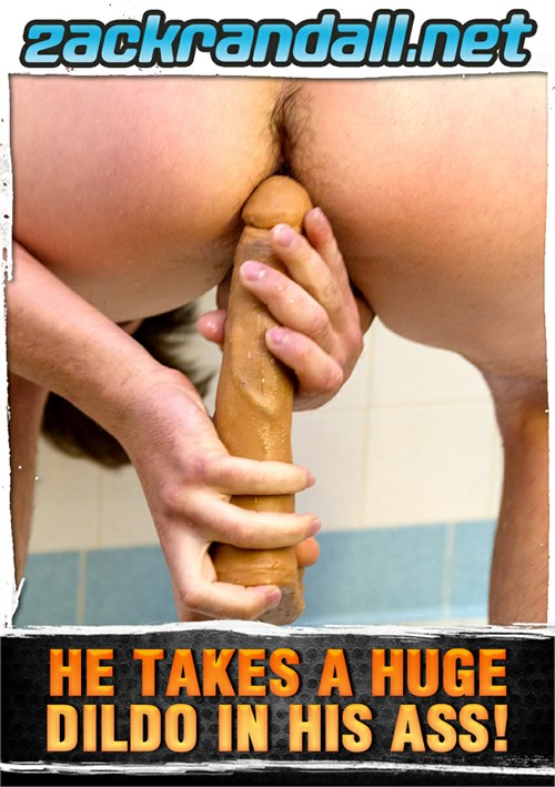 He Takes a Huge Dildo in His Ass! Boxcover