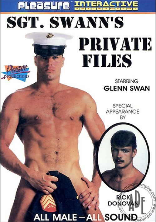 Sgt. Swann's Private Files Boxcover