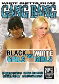 Gang Bang: Black Girls VS White Girls Porn Video