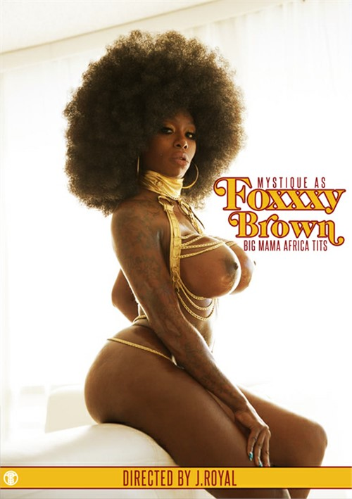 Foxxxy Brown: Big Mama Africa Tits Boxcover