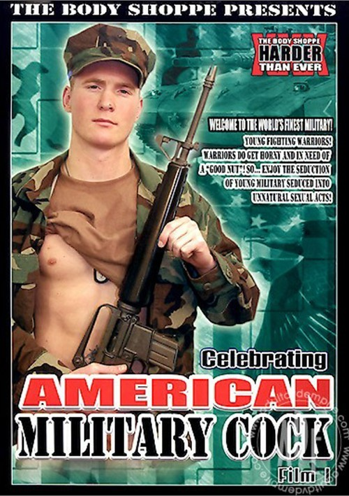 Celebrating American Military Cock: Film 1 Boxcover
