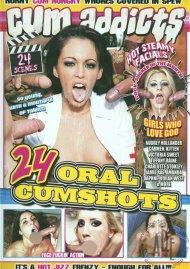 Cum Addicts: 24 Oral Cumshots Porn Video