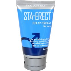 Sta-Erect Delay Creme For Men - 2oz. lubricant from Doc Johnson.