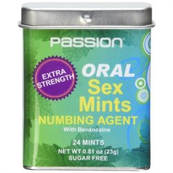 Oral Sex Mints With Numbing Agent - 24 Mints