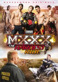 MXXX: The Hardest Ride gay porn DVD from NakedSword Originals