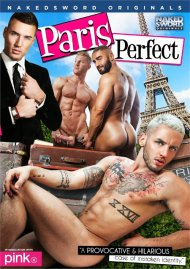 Paris Perfect gay porn DVD from Naked Sword Originals.