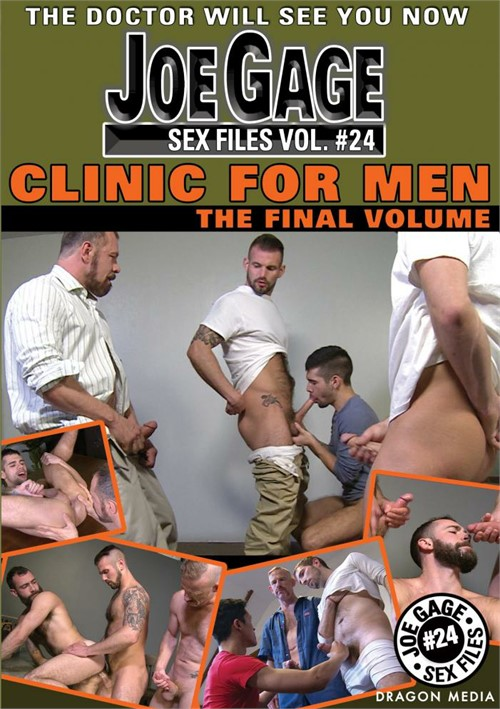 Joe Gage Sex Files 24: Clinic for Men Boxcover
