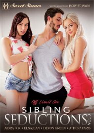 Sibling Seductions Vol. 3 DVD porn movie from Sweet Sinner.
