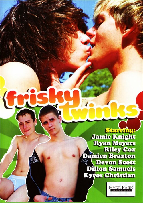 Frisky Twinks Boxcover