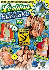 Lesbian Bukkake 12 porn video from JM Productions.