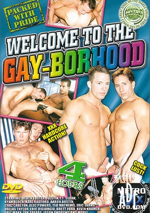 Welcome to the Gay-Borhood Boxcover