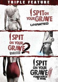 I Spit On Your Grave 3-Pack DVD from Starz.
