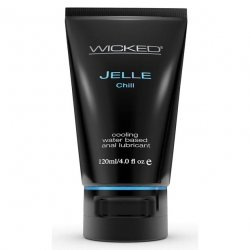 Wicked Cooling Anal Jelle - Chill - 4 oz.
