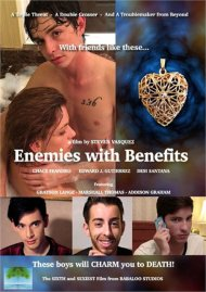 Enemies with Benefits HD gay porn streaming video from Babaloo Studios.