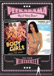 Peekarama: Body Girls / Let's Get Physical porn DVD from Vinegar Syndrome.