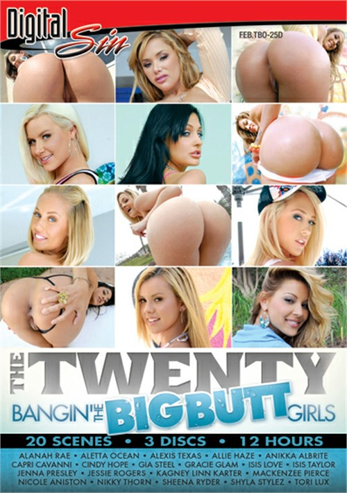 Twenty: Bangin' The Big Butt Girls, The Boxcover