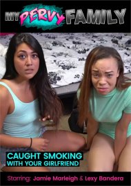 Caught Smoking With Your Girlfriend, Now Make Out With Her So I Don't Tell Mom & Dad.. image