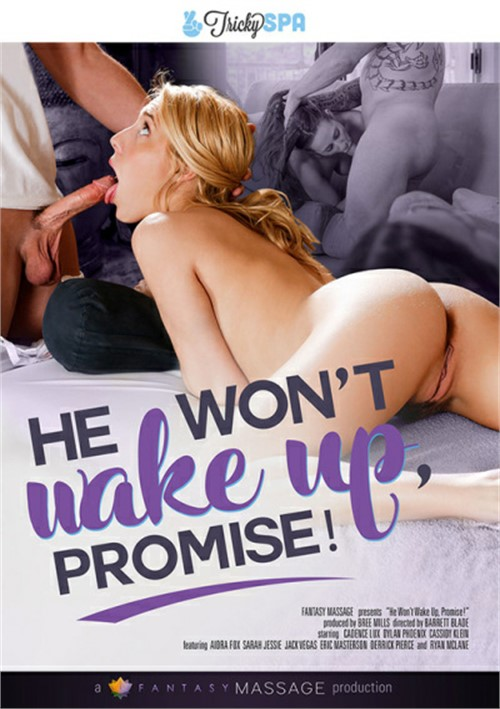 Cadence Lux stars in He Won't Wake Up, I Promise DVD porn movie.
