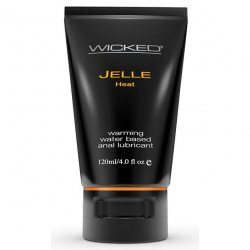 Wicked Warming Anal Jelle - 4 oz.