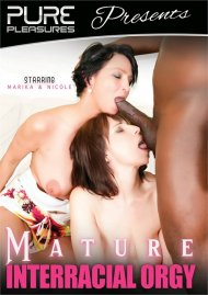 Mature Interracial Orgy