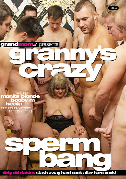 Granny's Crazy Sperm Bang