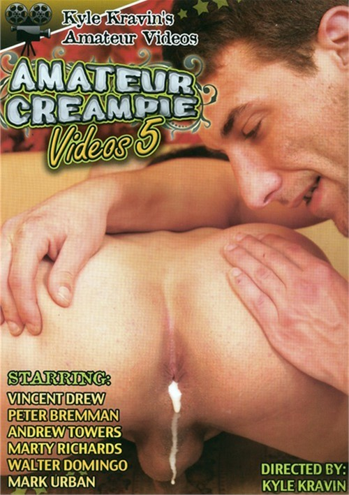 Kyle Kravin's Amateur Gay Creampies Videos 5 Boxcover