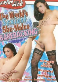 World's Sexiest She-Males Barebacking Porn Video