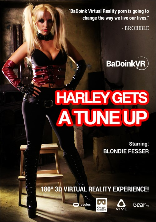 Harley Gets A Tune Up Boxcover
