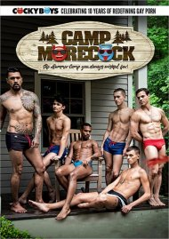 Camp Morecock gay porn DVD shot in HD.